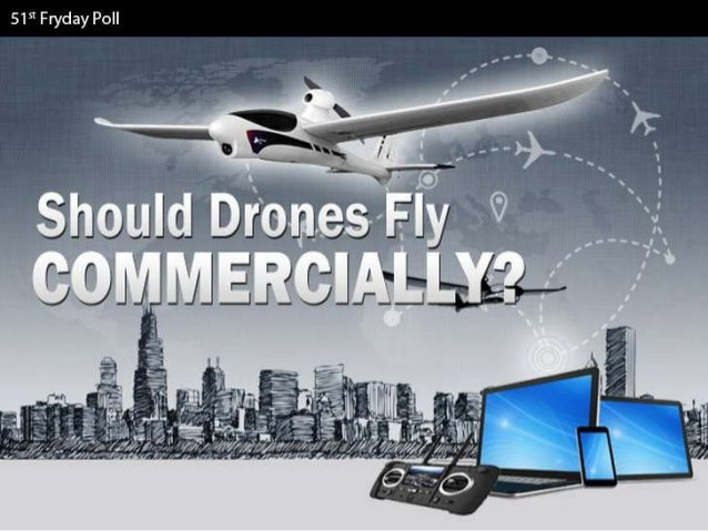 Should Drones Fly Commercially? - Facts & Infographic