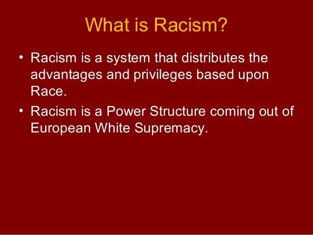 Racial Discrimination Against Nonwhites