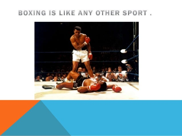 should boxing be banned pp 4 conclussion boxing