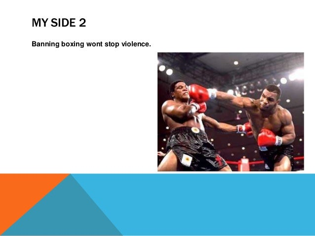should boxing be banned pp recommended