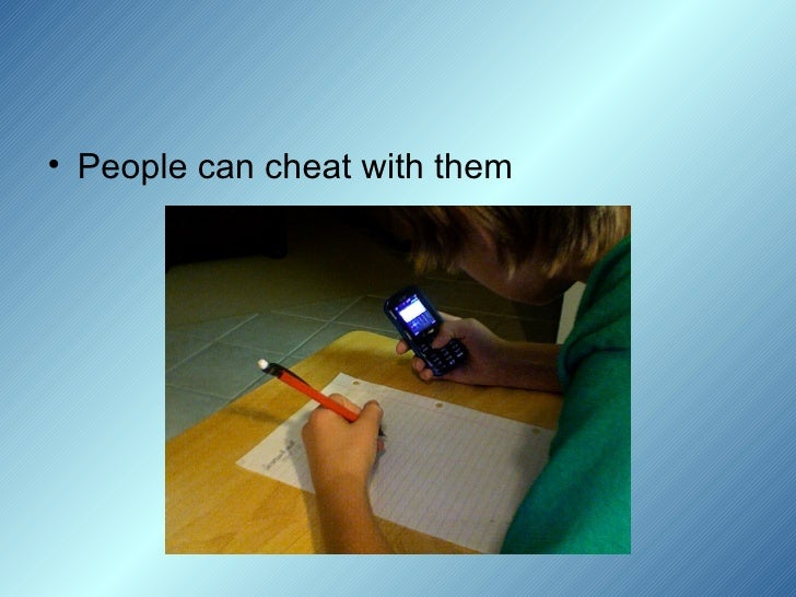 cheating with cell phones in school essay