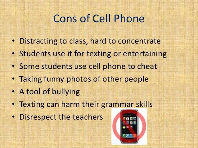 banning cell phones in school essay