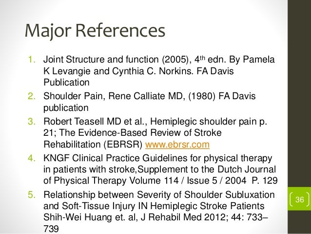 shoulder rehabilitation strategies guidelines and practice