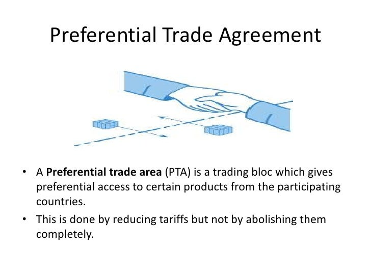 granting preferential trading rights to countries United states and european union preference programs are extensive nonreciprocal granting programs with developing countries most preferential trading.