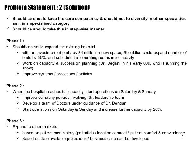 shouldice hospital limited abridged case study answers