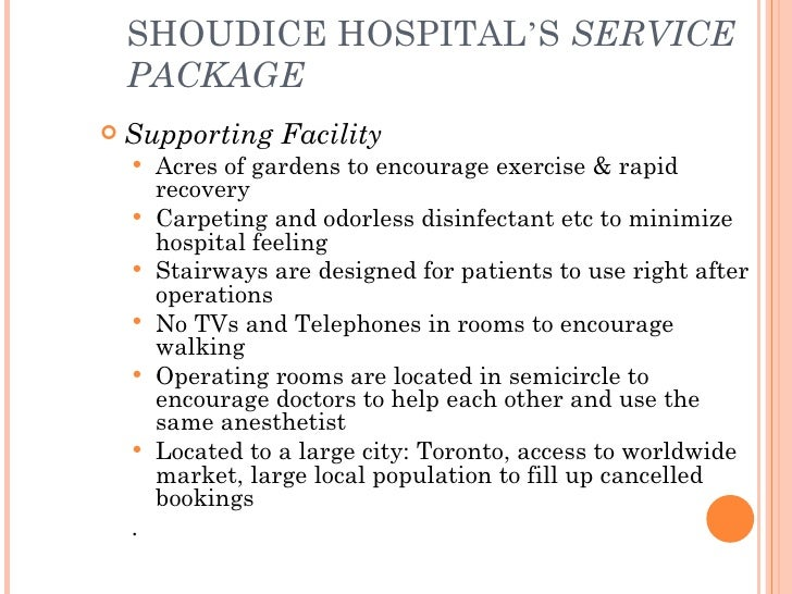hbs business case on shouldice hernia hospital