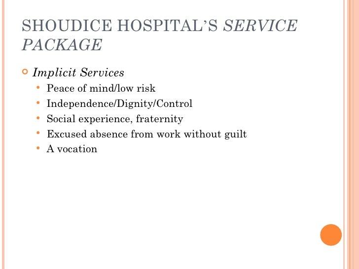 analyze customer gap 0 for the shouldice hospital