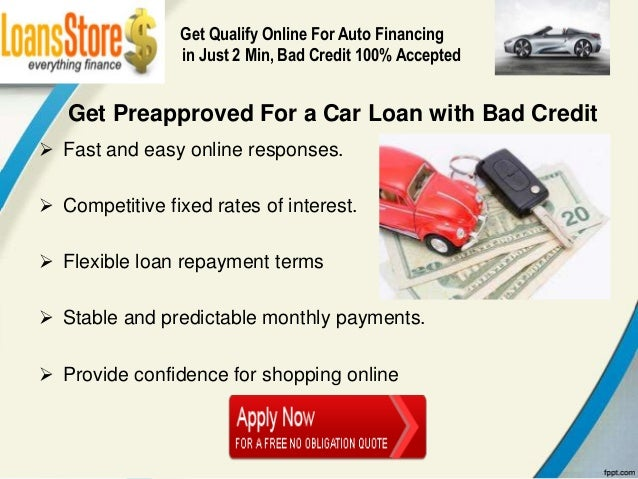 Should You Get Preapproved For A Car Loan