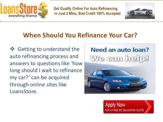 should i refinance my auto loan. Black Bedroom Furniture Sets. Home Design Ideas