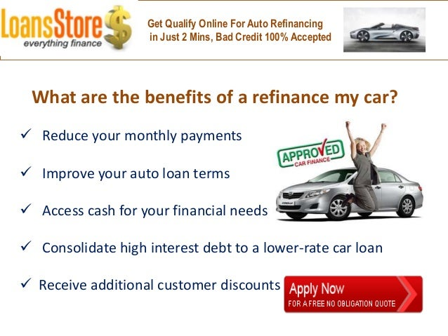 High interest rate auto loan refinance