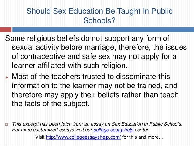 Should sex education be taught in public schools Nude Photos 65
