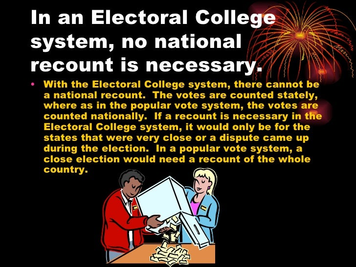 the electoral college should be removed in america The electoral college may have made sense in 1789 when it was created as part of the us constitution, but it makes almost no sense today it's time to abolish the electoral college and let the people choose the president directly before we get into why i believe we should jettison the electoral college,.