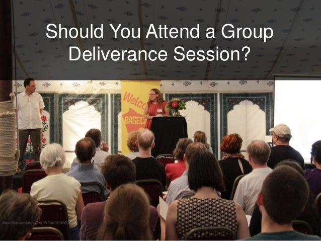 Should You Attend a Group Deliverance Session?