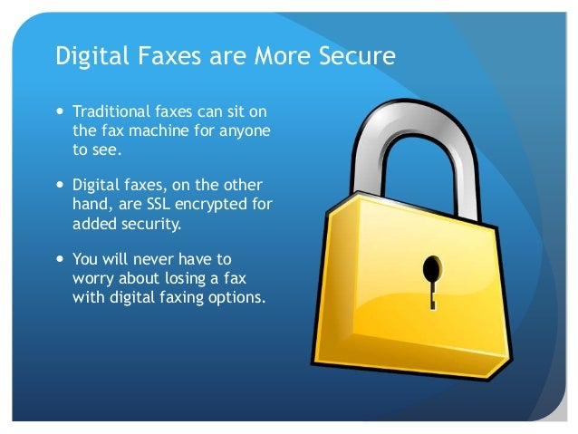 Encrypted Cell Phone >> Should You Finally Ditch Your Fax Machine and Go Digital?