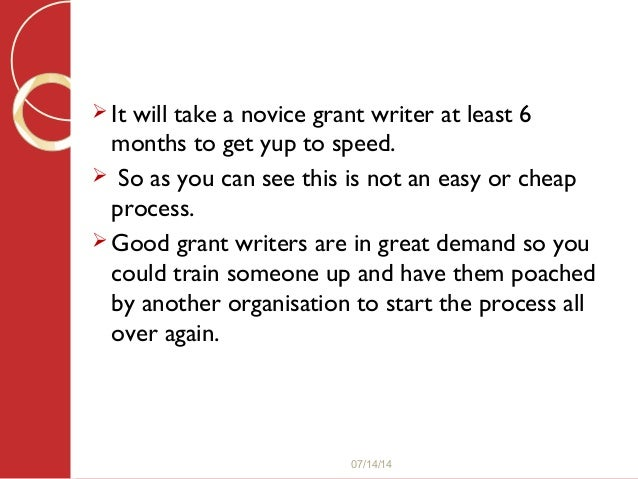 cheap grant writers