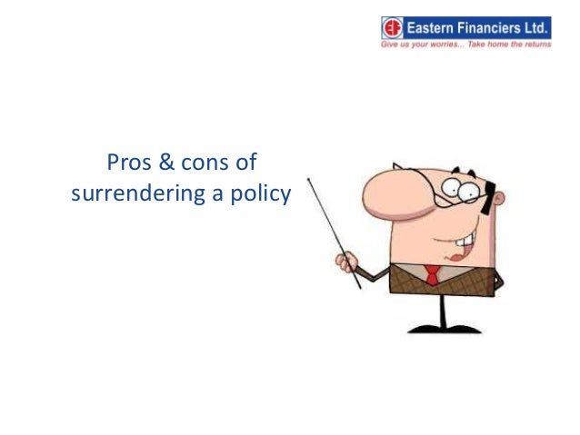 Should you surrender your life insurance policy?