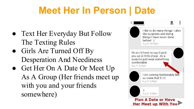 How To Text Girl For Date