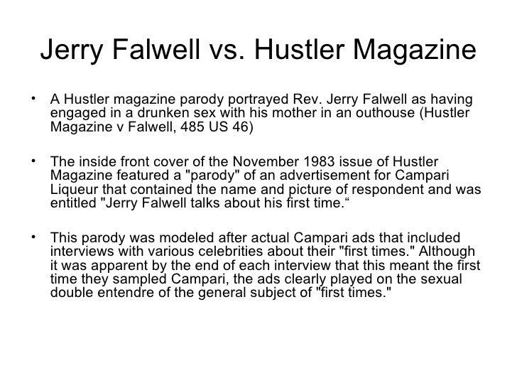Hustler v. falwell summary