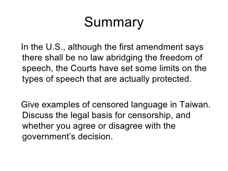 Freedom Of Speech Example Template Free Persuasive Speech Outline