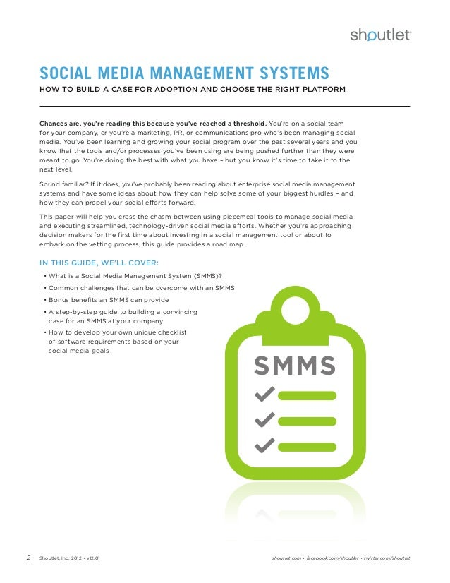 technology management and social media management essay Technology has taken over in the  the impact of social media and its  our study aims at identifying the impact of social networking websites on post graduate.