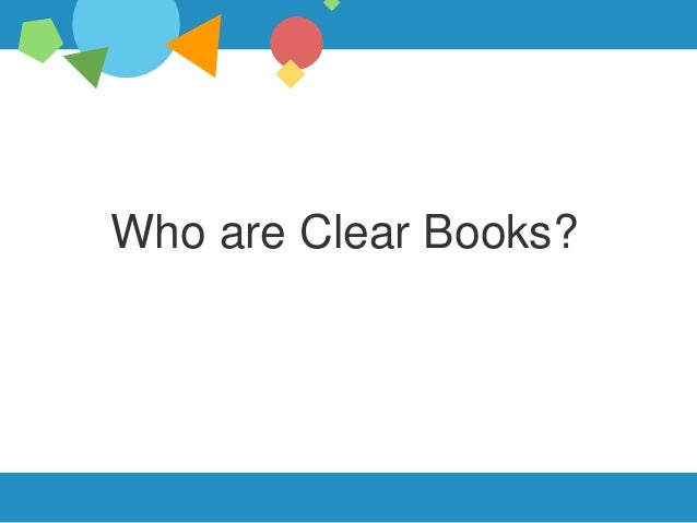 Who are Clear Books?
