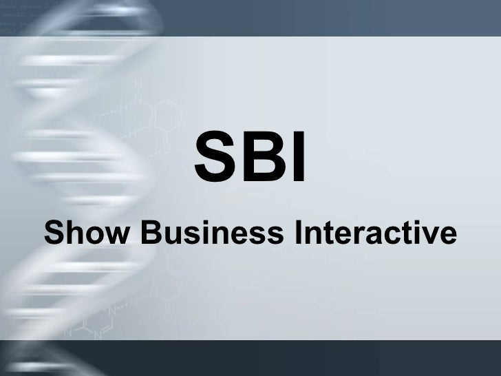 SBI Show Business Interactive