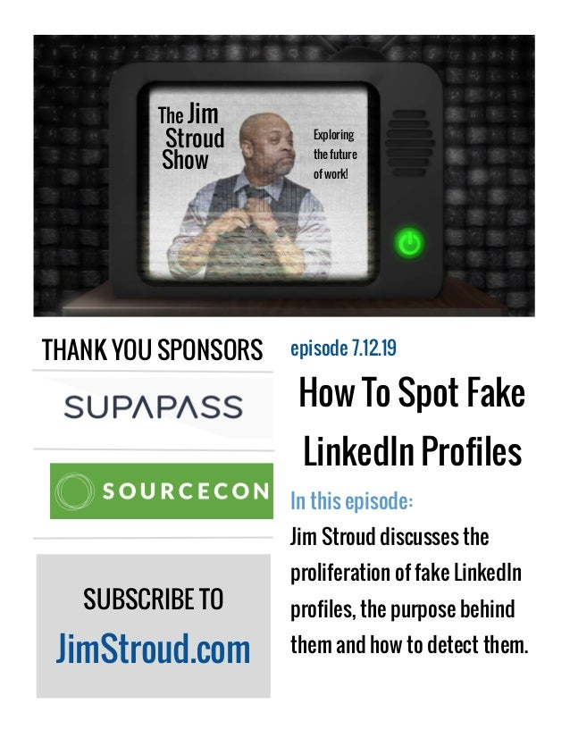 How To Spot Fake LinkedIn Profiles