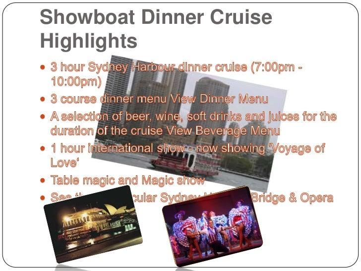 Dinner Cruise Sydney Harbour Slide 2