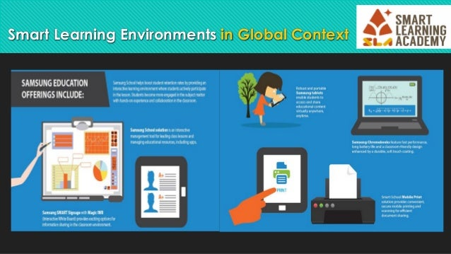 Show case global smart learning environment Slide 3