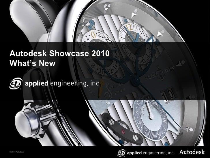 Autodesk Showcase 2010 What's New