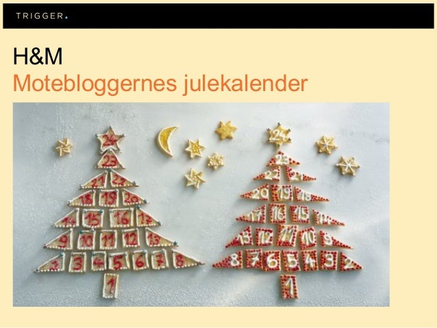 H&MMotebloggernes julekalender