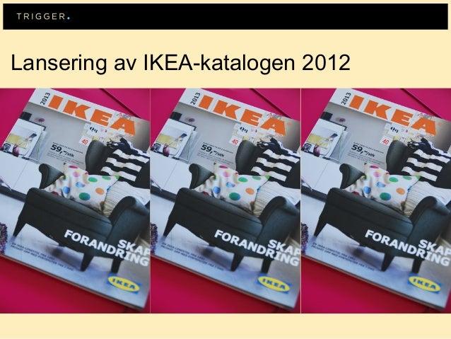Lansering av IKEA-katalogen 2012