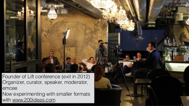 Showcase of the world's top meetings and how to innovate like them Slide 2