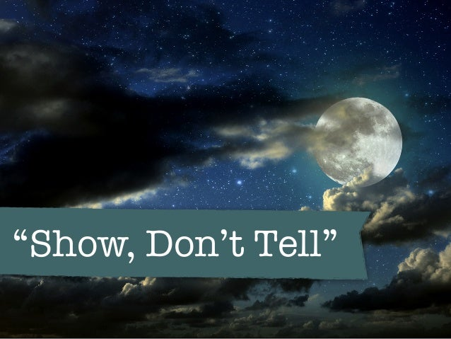 don t tell show
