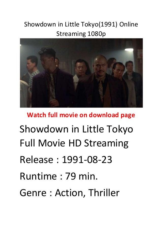 Showdown In Little Tokyo Stream