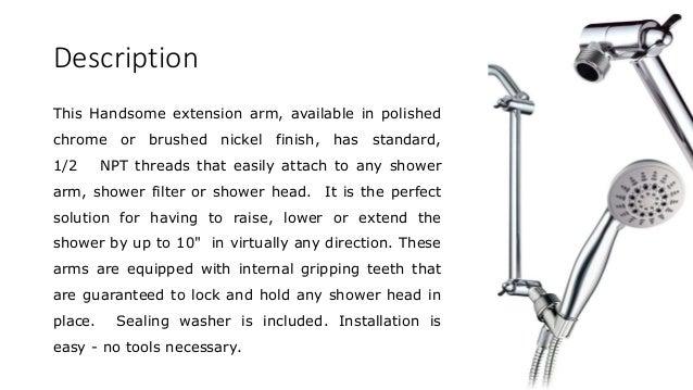 3 description this handsome extension arm