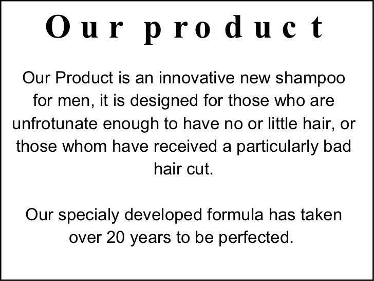 Advertisement Shampoo Script