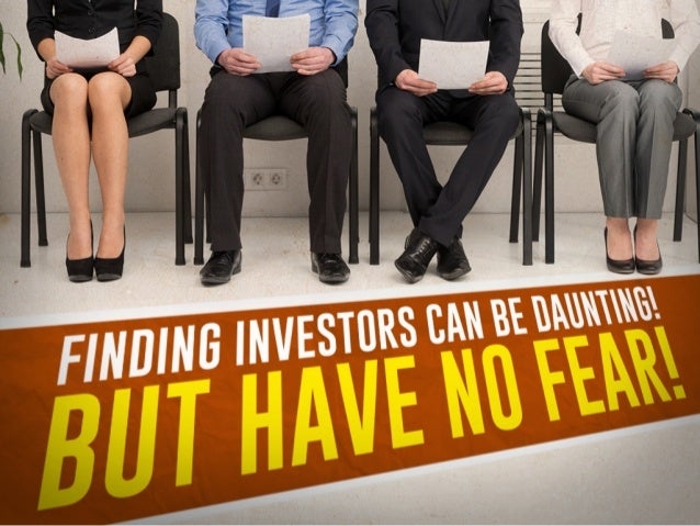 Show Me The Money! - Know the 4 Types of Investors @BlueStartups Slide 3