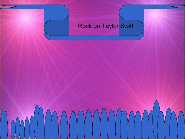 Rock on Taylor Swift