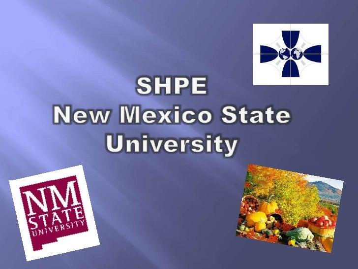 SHPENew Mexico State University<br />