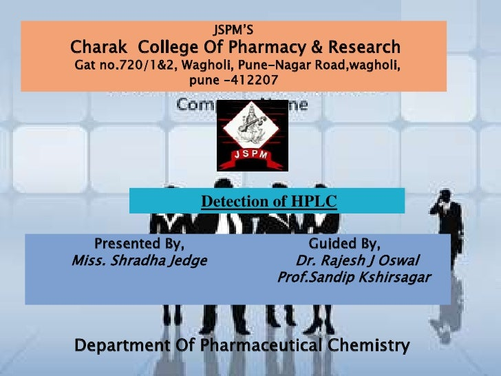 JSPM'SCharak College Of Pharmacy & ResearchGat no.720/1&2, Wagholi, Pune-Nagar Road,wagholi,                 pune -412207 ...