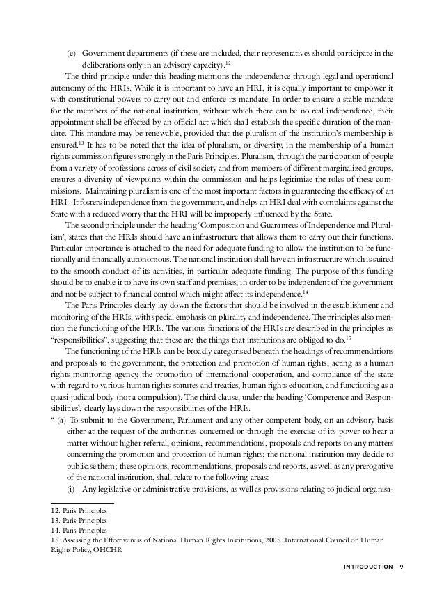 The Ten Principles of the UN Global Compact