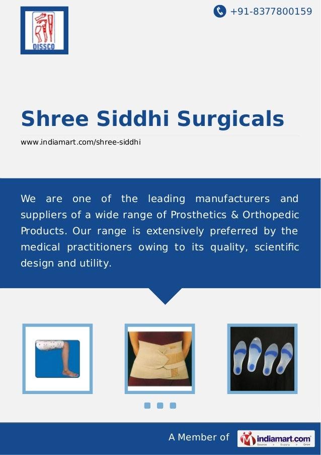 Shree Siddhi Surgicals, Mumbai, Orthopaedic Brace