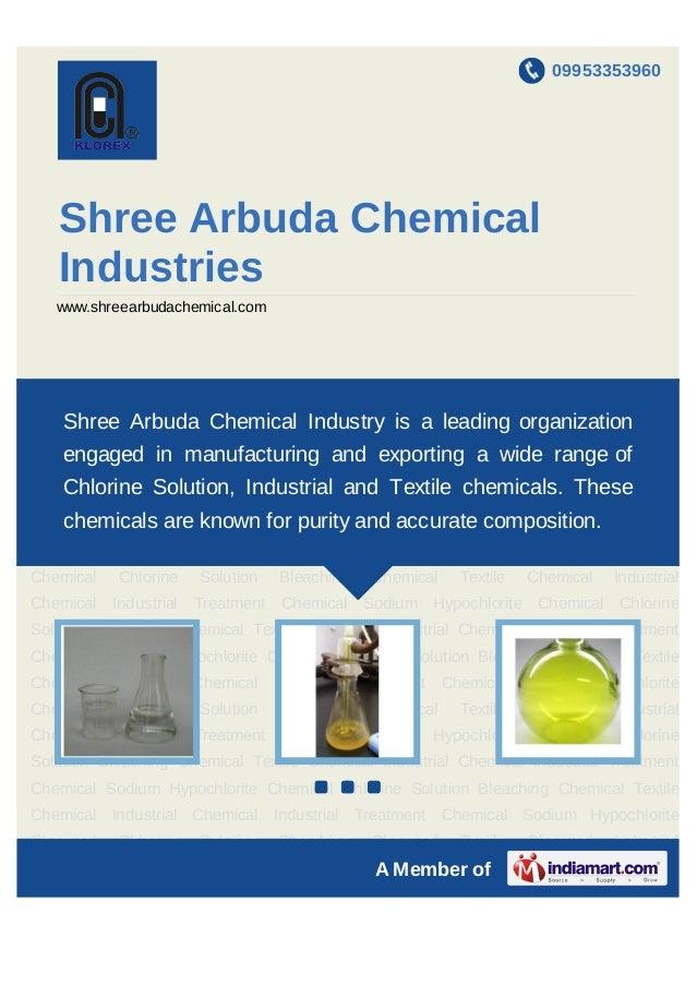09953353960   Shree Arbuda Chemical   Industries   www.shreearbudachemical.comSodium     Hypochlorite     Chemical     Chl...