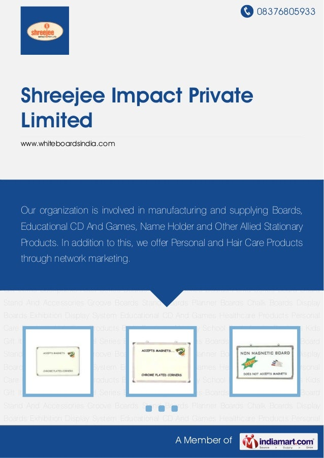 08376805933A Member ofShreejee Impact PrivateLimitedwww.whiteboardsindia.comAstel Series Boards Hanging Series Boards Pent...