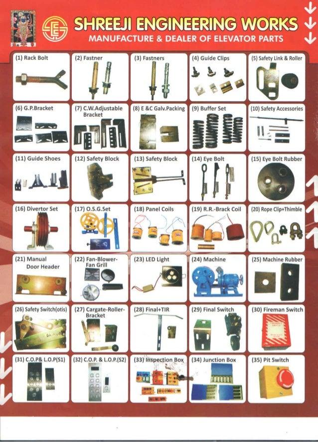 Shreeji Engineering Works, Ahmedabad, Elevator Spare Parts
