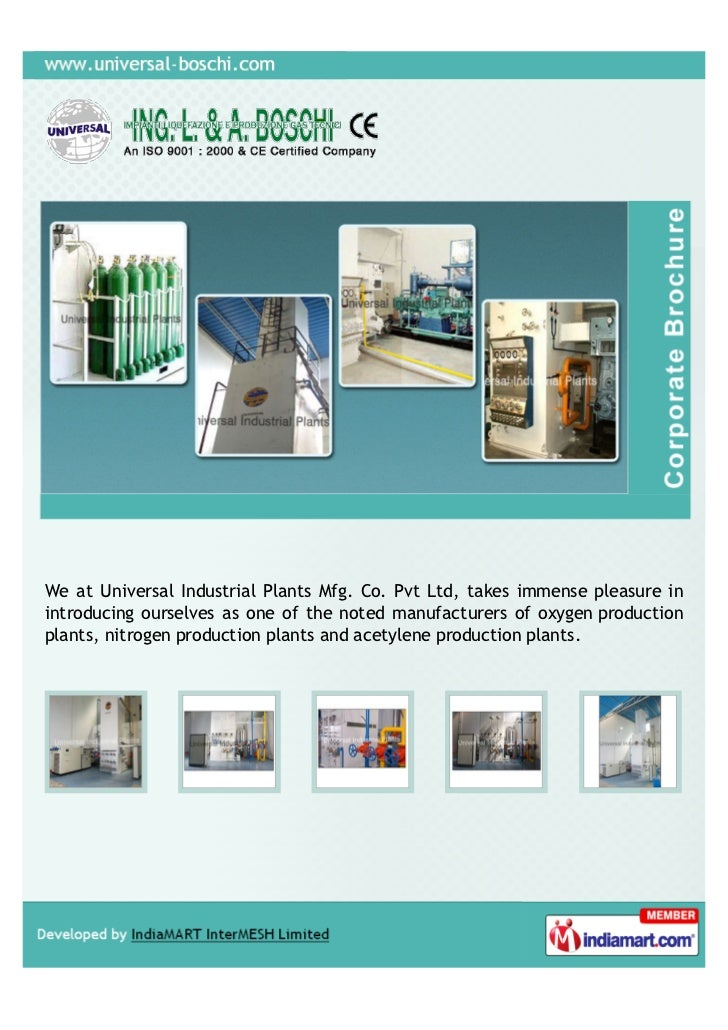 We at Universal Industrial Plants Mfg. Co. Pvt Ltd, takes immense pleasure inintroducing ourselves as one of the noted man...