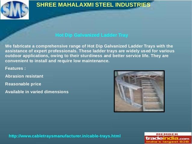 Ladder Cable Trays Shree Mahalaxmi Steel Industries