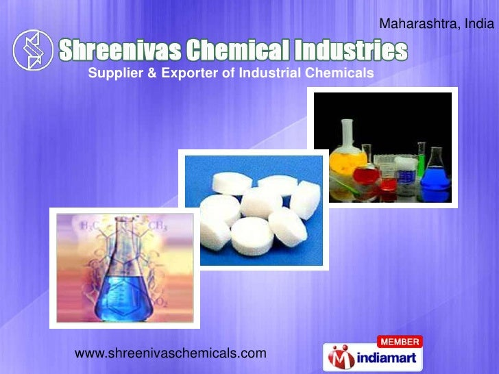 Maharashtra, India<br />Supplier & Exporter of Industrial Chemicals<br />