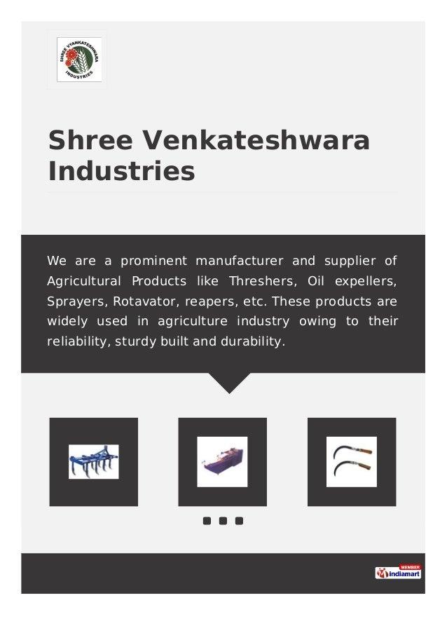 Manufacturer In Nagpur: Shree Vyankateshwara Industries, Nagpur, Filter Press